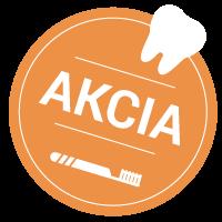 akcia sticker